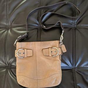 Genuine coach crossbody purse vintage No K05Q-1452